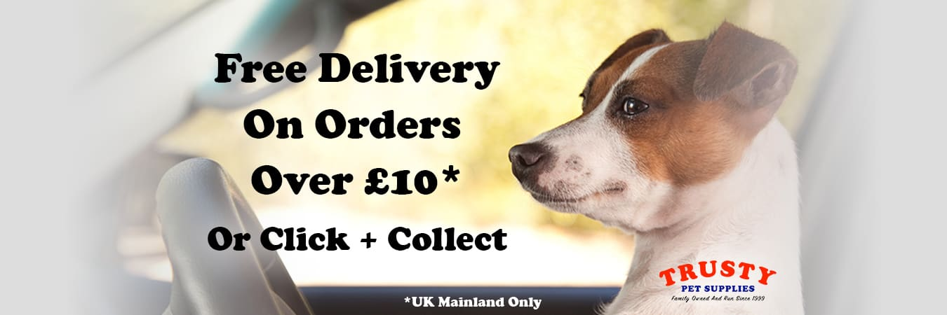 Trusty Pet Supplies Banner Image
