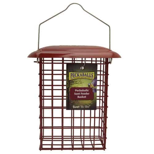 Peckaballs Basket Feeder Suet Feeders Wild Bird