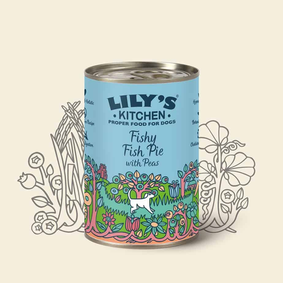 Lily\'s Kitchen Adult Fishy Fish Pie with Peas - Lily\'s Kitchen - Wet ...
